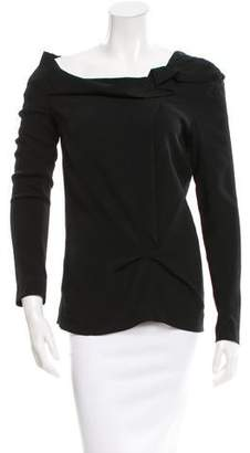 Roland Mouret Long Sleeve Balio Top w/ Tags