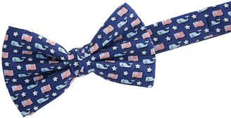Vineyard Vines Boys Whale & Flag Bow Tie