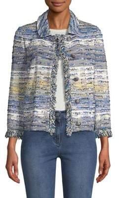 St. John Ombre Tweed Jacket