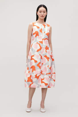 Cos PRINTED COCOON DRESS