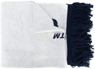 Off-White logo printed scarf