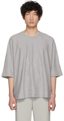 Issey Miyake Homme Plisse Grey Release T-Shirt