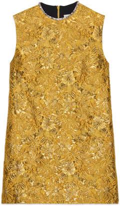 Gucci Floral brocade tunic top