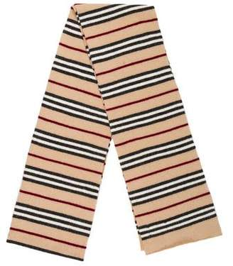 Burberry Wool Striped Scarf