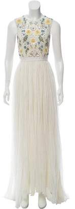 Needle & Thread Embellished Asymmetrical Dress