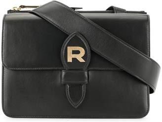 Rochas foldover logo crossbody bag