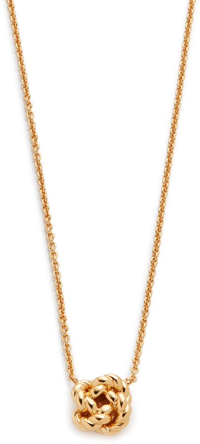 Tory BurchTory Burch Rope Knot Delicate Necklace