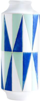 Shiraleah Large Geo Ceramic Vase