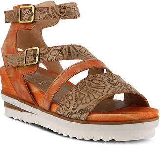 Spring Step L'Artiste by Nolana Wedge Sandal - Women's