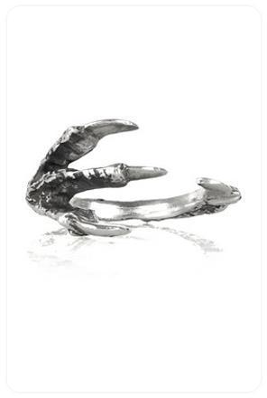 Pamela Love Talon Ring in Silver
