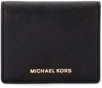 Michael Kors Black Saffiano Leather Card Holder