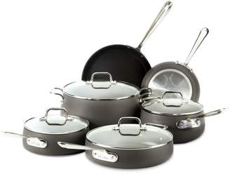 All-Clad HA1 Hard Anodized Nonstick 10-piece Cookware Set - E785SC64