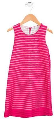 Baby CZ Girls' Crocheted Sleeveless Dress