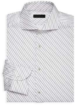 Saks Fifth Avenue MODERN Linear Dress Shirt