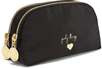 Victorias Secret Small Double Zip Beauty Bag $24 thestylecure.com