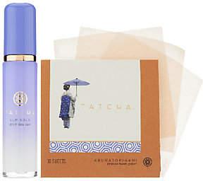 TATCHA Luminous Dewy Skin Mist and Bonus Blotting Papers $48 thestylecure.com