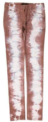 Isabel Marant Tie-Dye Mid-Rise Jeans w/ Tags