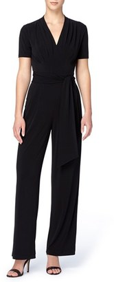 Women's Catherine Catherine Malandrino Kylie Wide Leg Jumpsuit $128 thestylecure.com