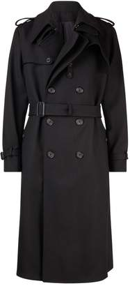 Alexander McQueen Wool Trench Coat