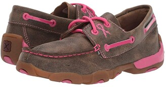 Twisted X Driving Moc Boat Shoe (Little Kid/Big Kid)