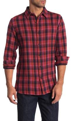 Knowledge Cotton Apparel Plaid Long Sleeve Casual Shirt