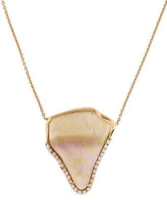 Kimberly McDonald 18K Opal & Diamond Necklace