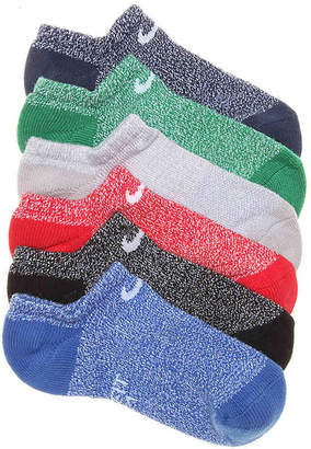 Nike Performance Cushioned Youth No Show Socks - 6 Pack - Boy's