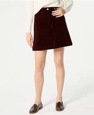 Lacoste Stretch Corduroy Skirt