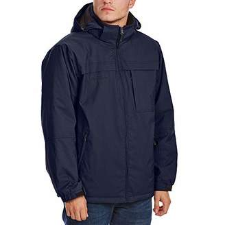 Free Country Men's Cubic Dobby Jacket with Bib Insert