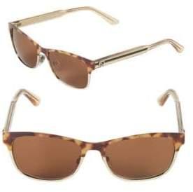 Gucci 53MM Rectangular Sunglasses