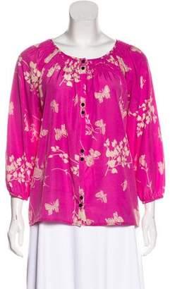 Yumi Kim Printed Long Sleeve Top