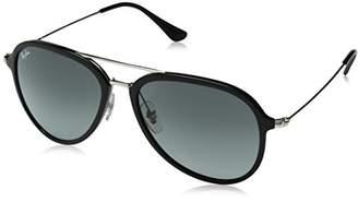 932d2ddd8f Ray-Ban Plastic Unisex Polarized Aviator Sunglasses