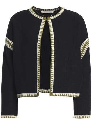 Vanessa Bruno Embroidered Wool Jacket