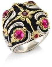 Konstantino Nemesis Pink Tourmaline Ring