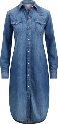 Ralph Lauren Denim Western Shirtdress