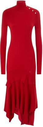 Stella McCartney Rib Knit Midi Dress