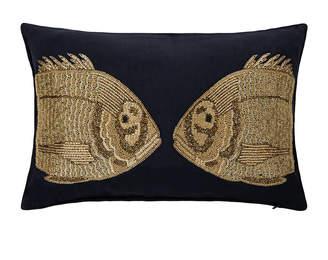 Jonathan Adler Aquatica Fish Cushion