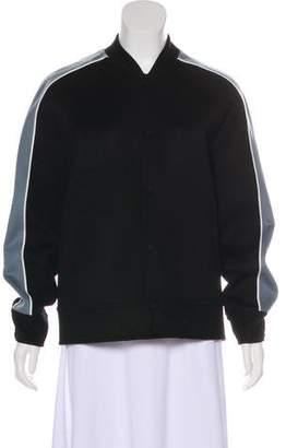 Valentino Wool & Cashmere Bomber Jacket
