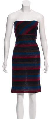 Etro Wool Striped Dress