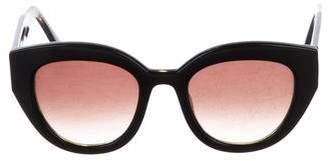 Thierry Lasry Oversize Gradient Sunglasses