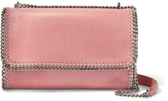 Stella McCartney The Falabella Faux Brushed-leather Shoulder Bag - Blush