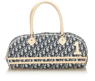 Christian Dior Vintage Oblique Trotter Boston Bag