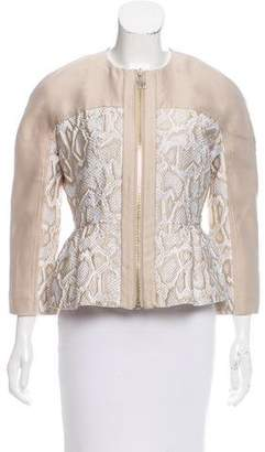 Moncler Gamme Rouge Kamili Embroidered Jacket
