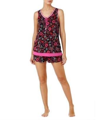 Secret Treasures Women's and Women's Plus Contemporary Rayon Pajama Tank and Short 2 Piece Sleepwear Set
