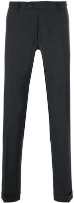 Berwich straight leg trousers