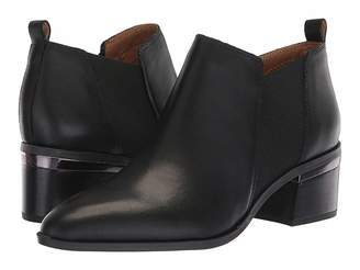 452962d1745 Franco Sarto Black Almond Toe Women s Boots - ShopStyle