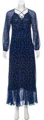Derek Lam Printed Silk Dress w/ Tags