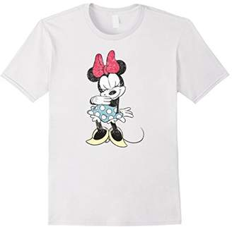 Disney Shy Minnie Mouse T Shirt