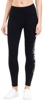 Calvin Klein Ombre Logo High Waist 7/8 Legging