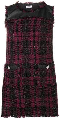 Liu Jo checked tweed dress